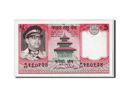 Népal, 5 Rupees, Non Daté (1974), KM:23a, NEUF - Nepal