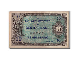 Allemagne, 10 Mark, 1944, KM:194a, Non Daté, SUP - [ 5] Ocupación De Los Aliados