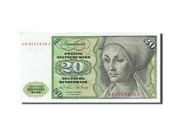 République Fédérale Allemande, 20 Deutsche Mark, 1970-1980, KM:32a, 1970-0... - [ 7] 1949-… : RFA - Rep. Fed. Tedesca