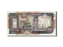 Somalie, 50 N Shilin = 50 N Shillings, 1991, Non Daté, KM:R2, NEUF - Somalia
