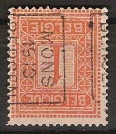 PELLENS Type Cijfer Nr. 108 Voorafgestempeld Nr. 2168 Positie B     MONS 1913 BERGEN  ; Staat Zie Scan ! - Precancels