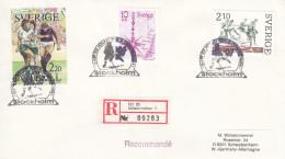 EISHOCKEY-ICEHOCKEY-HOCKE Y SUR GLACE-HOCKEY SU GHIACCIO, SWEDEN, 19.., RECO/Special Postmark !! - Hockey (su Ghiaccio)