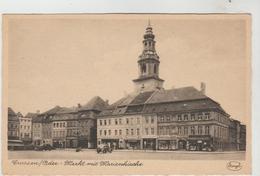 CPSM CROSSEN/ODER Ou KROSNO ODRZANSKIE (Pologne) - Markt Mit Marienkirche - Pologne