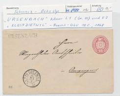 Schweiz -alte Ganzsache  - Ursenbach    (be8488 ) Siehe Scan - Enteros Postales