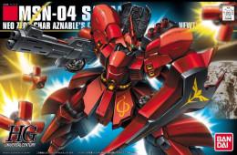Gundam HGUC MSN-04 Sazabi  1/144  ( Bandai ) - SF & Robots