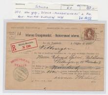 Schweiz - Alte Firmen Post -Mandat Vordruck    ( Ze 1033  )  Siehe Bild - 1882-1906 Coat Of Arms, Standing Helvetia & UPU