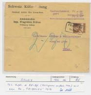 Schweiz - Alter  Nachnahme Beleg     ( Ze 1024  )  Siehe Bild - Svizzera