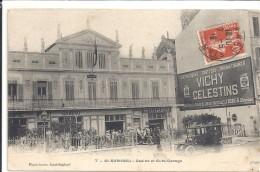 C P A    -   SAINT  RAPHAEL   Casino  Et  Auto -   Garage - Saint-Raphaël