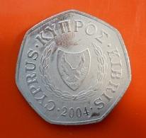 Cyprus 50 Cents 2004 - Cyprus