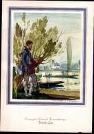 Menu PAQUEBOT FRANCE 1972  Cie Générale Transatlantique- Illust. A. Mercier, Chef H. Le Huédé - DU BELLAY - Menu