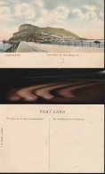 5700) GIBRALTAR ROCK FROM THE NEW BRIDGE NON VIAGGIATA 1910 CIRCA - Gibilterra