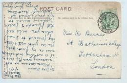Single Circle - Great Harwood (Lancs) On Greetings PC - Postmark Collection