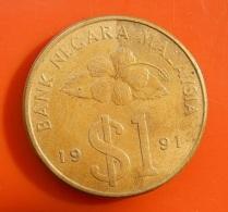 Malaysia 1 Ringgit 1991 - Malaysie
