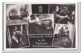 Ondergronds Bedrijf In De Limburgse Steenkolenmijnen - Mijnen