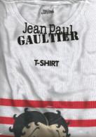 Jean Paul GAULTIER T-shirt Betty Boop - Parfums & Beauté