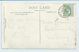 Single Circle - Corfe Castle (Dorset) - On PC Of Castle - Postmark Collection