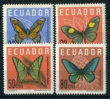 EQUATEUR ( POSTE ) : Y&T  N°  676/679  TIMBRES  NEUFS  SANS  TRACE  DE  CHARNIERE , A  VOIR . - Ecuador