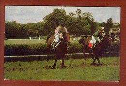 1 Cpa Postillon Calendrier Des Courses - Octobre 1967 Jc Desaint - Calendriers