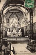 CPA MAULE 78 Choeur Et Sanctuaire (XIIème Siècle) 1913 - Maule