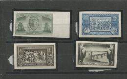 Roemenie PF (MNH) Mi 458-461 U ONGETAND RARE - 1918-1948 Ferdinand, Charles II & Michael