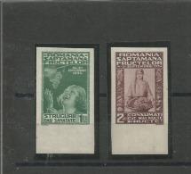 Roemenie PF (MNH) Mi 478-479 U ONGETAND RARE - 1918-1948 Ferdinand, Charles II & Michael