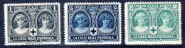 1926, Croix Rouge, YT 288, 291 + 294, Neuf *, Lot 45430 - 1889-1931 Royaume: Alphonse XIII