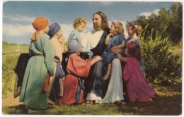 Bethany Scene From The Black Hills Passion Play With Josef Meier As Christ, Unused Postcard [17628] - Jesus