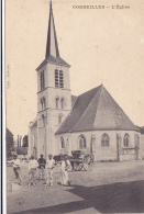Cpa-45-corbeilles En Gatinais--animée-eglise - Sonstige Gemeinden