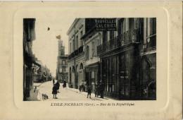 32 L´ISLE JOURDAIN RUE DE LA REPUBLIQUE NOUVELLES GALERIES - Sin Clasificación
