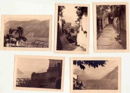Gandria Suisse / 5 Photographies - Vieux Papiers