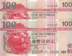 HONG KONG --- 2 X  HK$100 ----2006 ---- ZY - Hong Kong