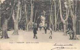 C  P  A   -  TOULON  Jardin De La Ville - Toulon