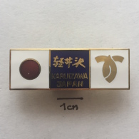Badge / Pin ZN001814 - Japan (Nippon / Nihon) Mayor Of Karuizawa - Administrations