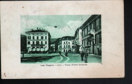 ITALIE, LAGO MAGGIORE, LUINO, PIAZZA VITTORIO EMMANELE - Luino