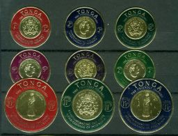 TONGA ( POSTE/AERIEN ) : Y&T  N° 128/133  +  PA  1/6  TIMBRES  NEUFS  SANS  TRACE  DE  CHARNIERE , A  VOIR . - Tonga (1970-...)