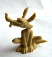 RARE FIGURINE PUBLICITAIRE DUNKIN ESPAGNOLE VIC LE VIKING COYOTTE A20 Monochrome Beige - Pas Wiko Boomer - Figurines