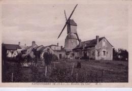 Savennières.. Animée Le Moulin Du Gué Moulin à Vent - Autres Communes