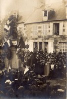 TINCHEBRAY - Carte Photo Monument Aux Morts Porte De Condé Le 11 Novembre1918 - Otros Municipios