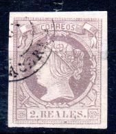 1862,  Isabelle II.;  YT  52, Oblitéré, Voir Scan, Lot 45449 - Usati