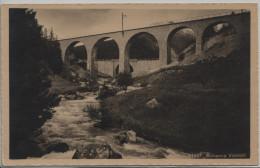 Sulsanna Viadukt Der Rhätische Bahn - GR Grisons
