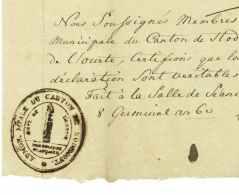 Hodimont (Verviers) - Departement Conquis - 1798 - Historical Documents