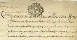 MONASTERE DE NOTRE-DAME DU VAL D'OSNE (Bénédictines) - 1720 - Charenton - Princesse De VAUDEMONT - Documents Historiques