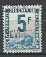 """Petits Colis YT 4A """" 5F. Outremer """" 1944-47 Oblitéré - Paketmarken"""