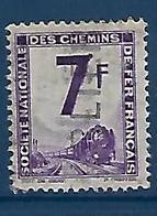 """FR Petits Colis YT 6 """" 7F. Violet """" 1944-47 Oblitéré - Used"""