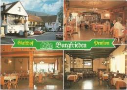 R61 Jossgrund Burgjoss Im Naturpark Spessart - Gasthof Pension Burgfrieden / Non Viaggiata - Germania