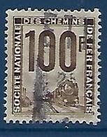 """FR Petits Colis YT 22 """" 100F. Gris-brun """" 1944-47 Oblitéré - Paketmarken"""