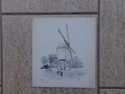 Moulin A Wilsele Door JVB - Estampas & Grabados