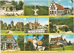 R72 Lipperland - Bad Salzuflen - Bad Meinberg - Lemgo - Burg Sternberg - Blomberg - Barntrup / Non Viaggiata - Germania