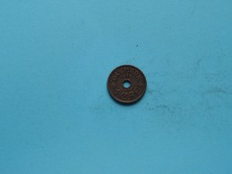 1932 - 1 Ore - KM 826.2 ( Uncleaned Coin / For Grade, Please See Photo ) !! - Danemark