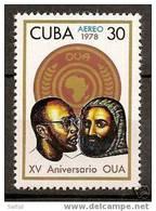 CUBA Yvert Air Mail 285 ** OUA - Aéreo